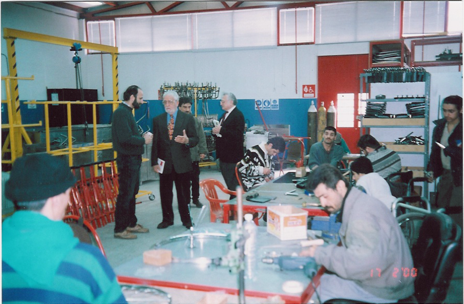 15. T. Staros, J. Victor at ARC EN CIEL